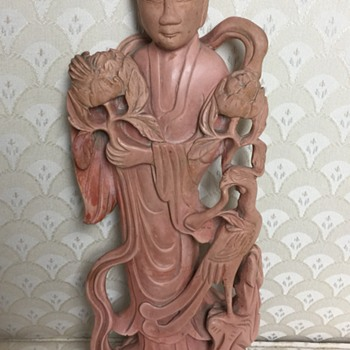 Unknown Chinese Stone Statue,