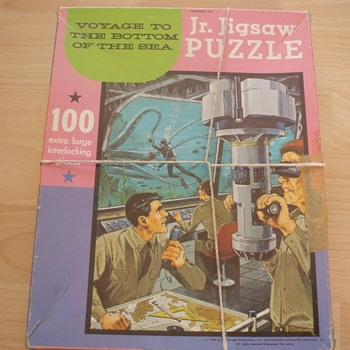 Voyage To The Bottom Of The Sea Jigsaw