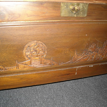 Asian Camphor Trunks - Furniture