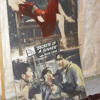 30s Movie Poster Secrets of a Sinner