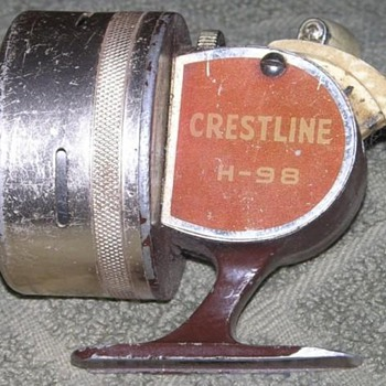 Old Spinning Reel - Fishing