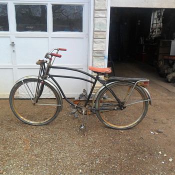 would like to restore this old bicycle - Sporting Goods