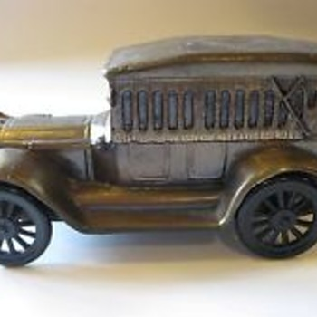 Cast Iron Car Bank 1917