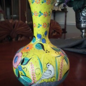 Mexican Pottery  Water Jug-- Signed - Art Pottery