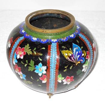 Asian Cloisonne Enamel Censer, early 1900 - Asian