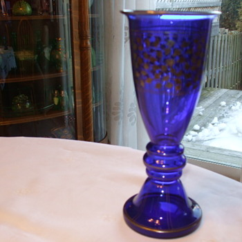 josef hoffman/ wiener werkstatte/ Michael Powolny Made in Austria? VASE - Art Glass