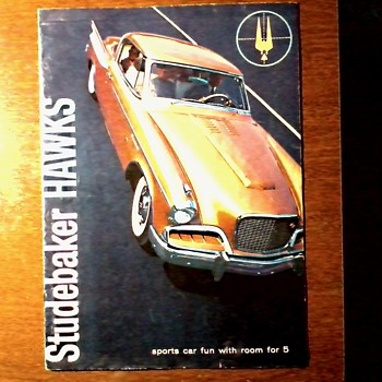"Original Studebaker ""Hawks"" Dealer Brochure / Circa 1957 - Advertising"