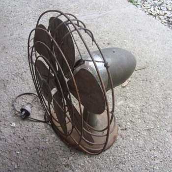 art deco airflow fan - Tools and Hardware