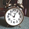 Linden Two Bell Wind Up Alarm Clock / Marked Germany (Black Forest?)/ Circa 1960