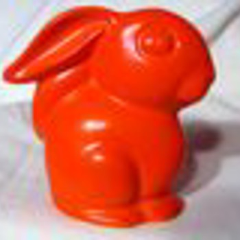 CCP Redware cottontail bunny - Animals