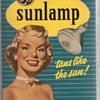 General Electric Reflector Sunlamp Tanning Bulb Original Retro Box