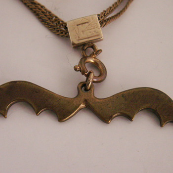 My Halloween Bat Watch Fob