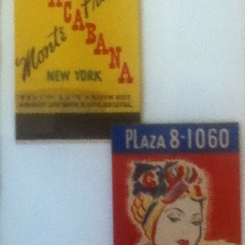 Vintage Copacabana Matchbook - Advertising