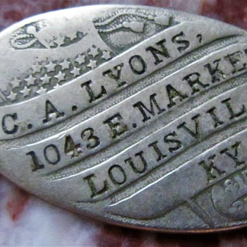 MYSTERY DOG TAG / CIVIL WAR?