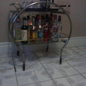 Art Deco Bar Cart - Art Deco