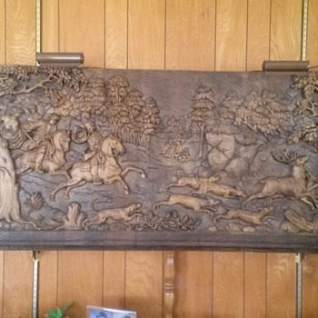 Can someone help identify this lovely handcrafted wall piece?