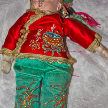 Antique doll, Tibet?  Nepal? Any ideas??? - Dolls