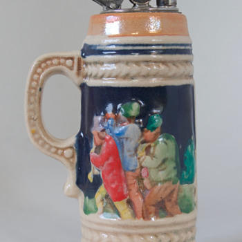 German Lighter in Stein Form.......