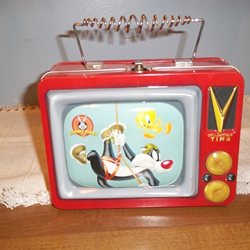 LOONEY TUNES SYLVESTER & TWEETY LUNCH PAIL