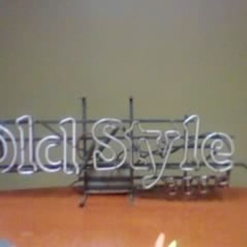 vintage old stlye beer sign  - Signs