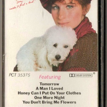 """Barbra Streisand"" Cassette Tape - Music"