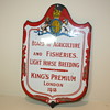 Antique sign Board of Agriculture and fisheries UK