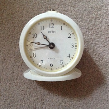 1950's Wiltic alarm clock. - Clocks