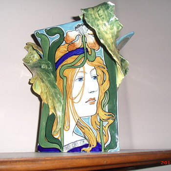 Salvini Italia art nouveau vase