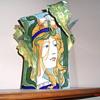 Salvini Italia art nouveau vase