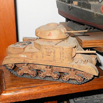 M3 Lee Tank 1/35 Tamiya Model - Military and Wartime