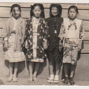'CULTURAL APPRECIATION DAY' at My Wife's Elementary School in 1963