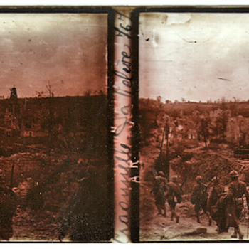 World War I Found Film - Photographs