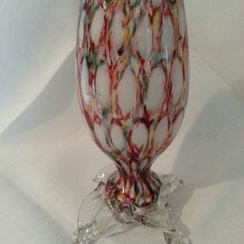 Bohemian Harlequin Honeycomb No. 2 - Art Glass
