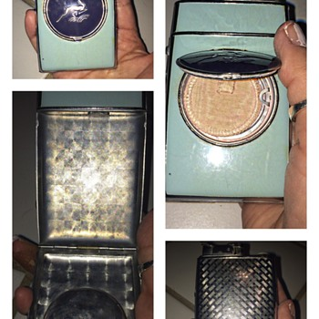 Ladies Evans Lighter with a Compact & Cigarette holder
