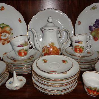 Schumann Porcelain Collection:  Fruits and Nuts - China and Dinnerware