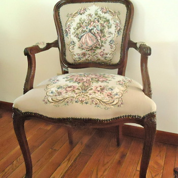 Grandparent's Victorian Style Arm Chair