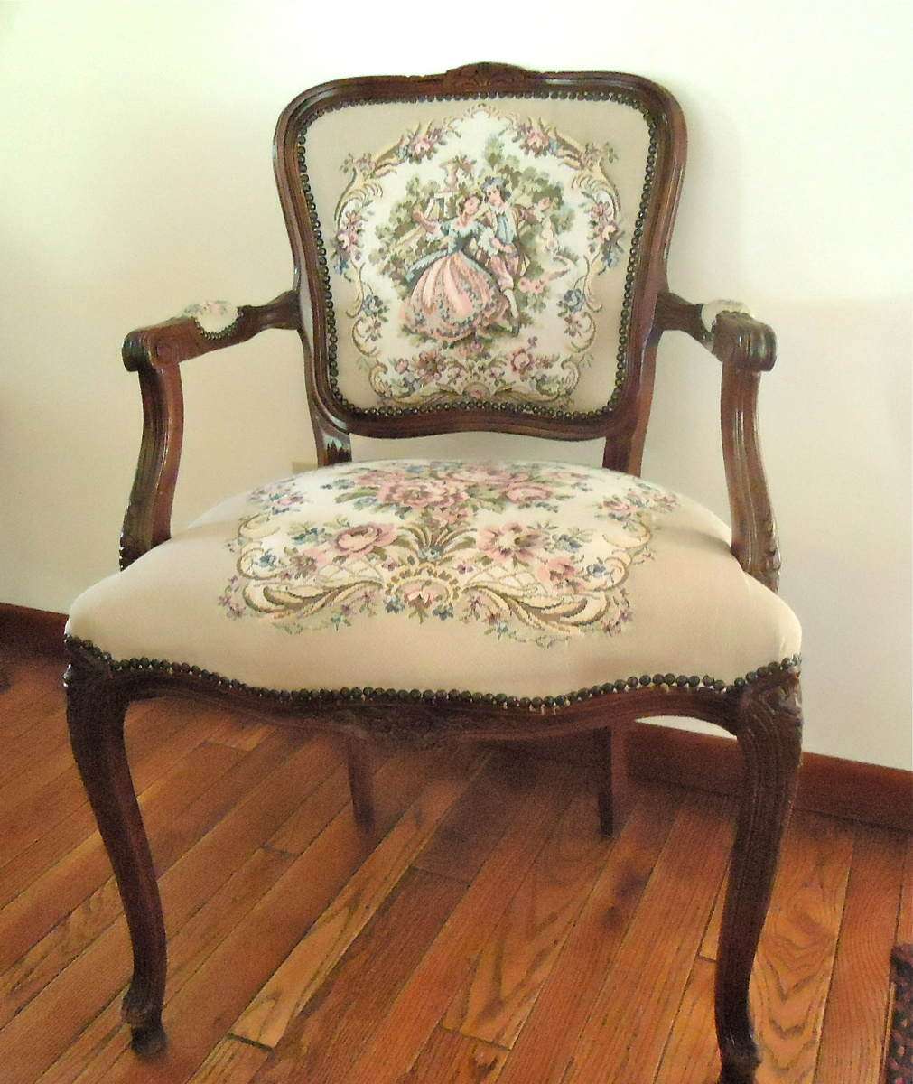 Grandparent s victorian style arm chair collectors weekly