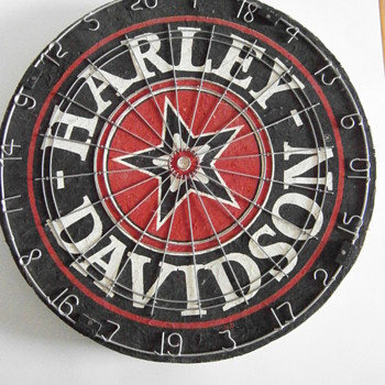 Harley-Davidson Dart Board - Games
