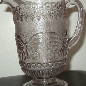 Butterfly Water Pitcher