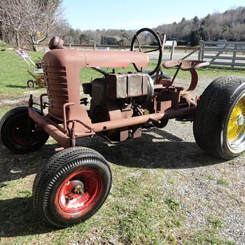 Copar Panzer Riding Garden Tractor - Tractors