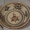 """Ceramique Slama Bowl...10.5"""" from Nabeul Tunisie"""