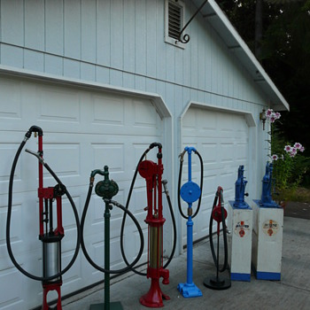 Gas pump collection - Petroliana