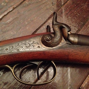 Early English Muzzle Loader Shotgun