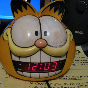 Garfield Alarm Clock