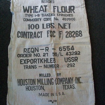 Flour Sacks  - Rugs and Textiles