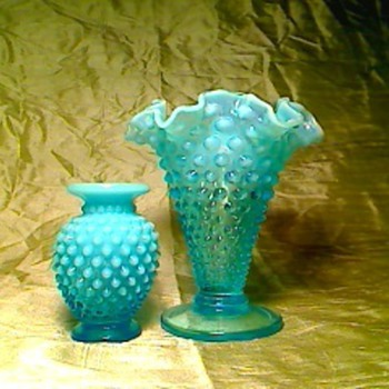 Blue fenton