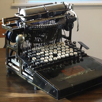1886 Caligraph No. 2 Typewriter- From Barn to Bookshelf- Restoration - Office