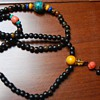 natural rhinoceros horn pray beads necklace