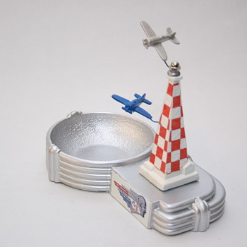 Cleveland National Air Race Ashtray