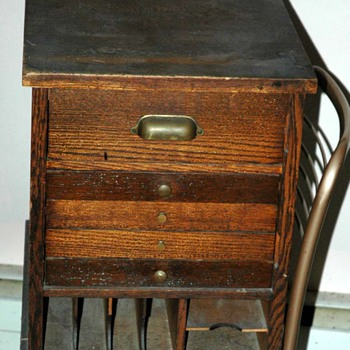 Stamp Cabinet - Furniture
